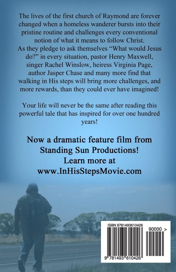 In His Steps - Paperback, Movie Tie-In Edition Back Cover