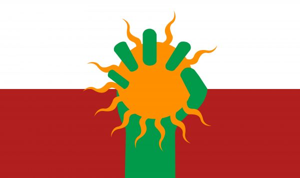 Survivors Alliance Flag - Delantare | Standing Sun Productions