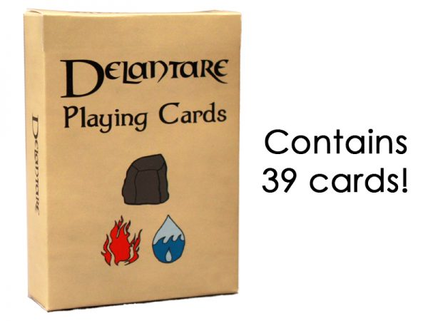 Delantare Fantasy Playing Cards